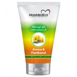 MASSAGE GEL WITH EXTRACT OF ARNIKA AND PANTHENOL